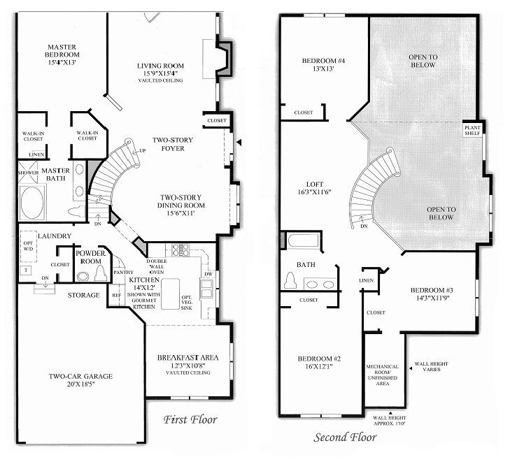 Enclave at Short Hills Models & Floor Plans