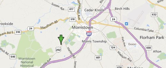 Morris Township Map