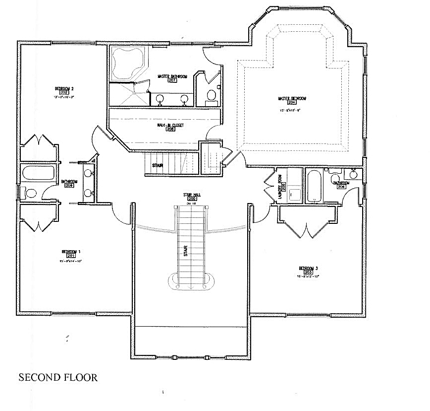 Floor Plans for New Home for Sale in Madison NJ