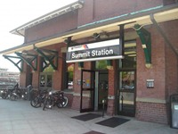 Summit NJ train Station
