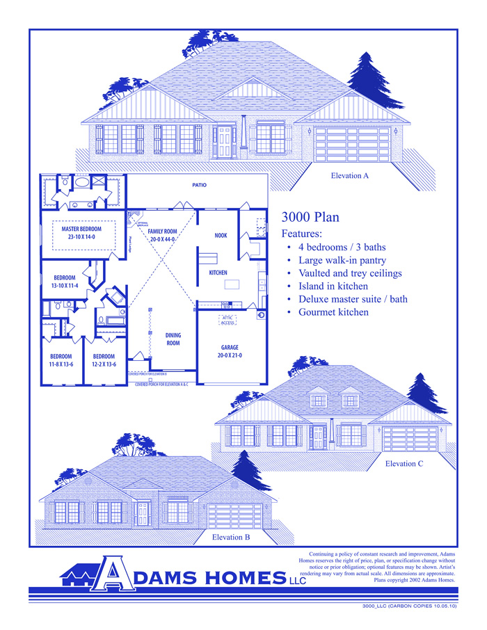 Adams Homes Floor Plans And Location In Jefferson, Shelby, St. Clair County  Alabama, Inventory Prebuilt