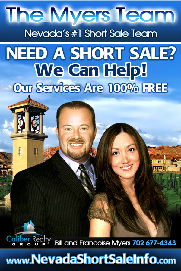 Nevada Short Sales - The Myers Team Las Vegas