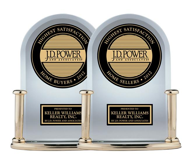 JD Powers Keller Williams Buyer & Seller Award 2012