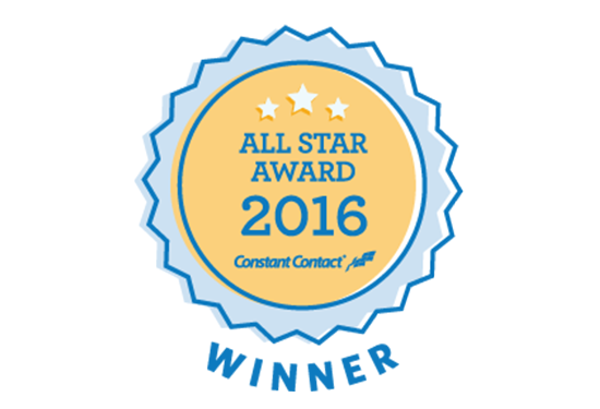 2014 Constant Contact ALL STAR AWARD Winner!