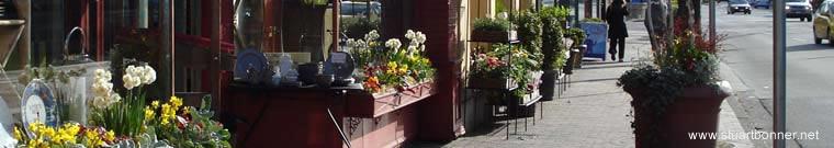 W41st Avenue shops, Kerrisdale, Vancouver West, BC, Canada