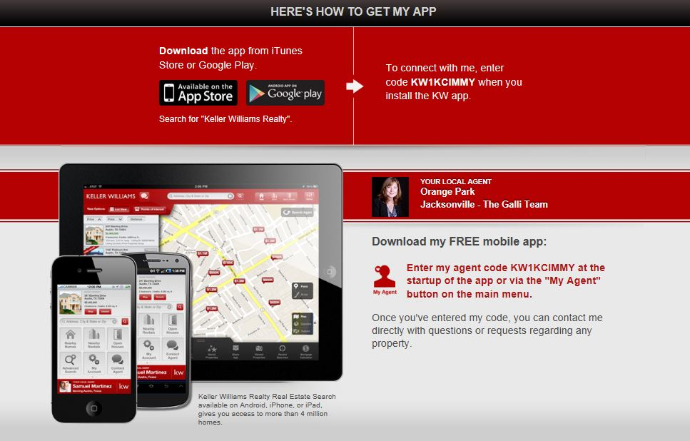 Free Home Search App