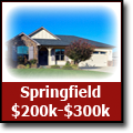Search for homes in Springfield, Oregon from $200k-$300k