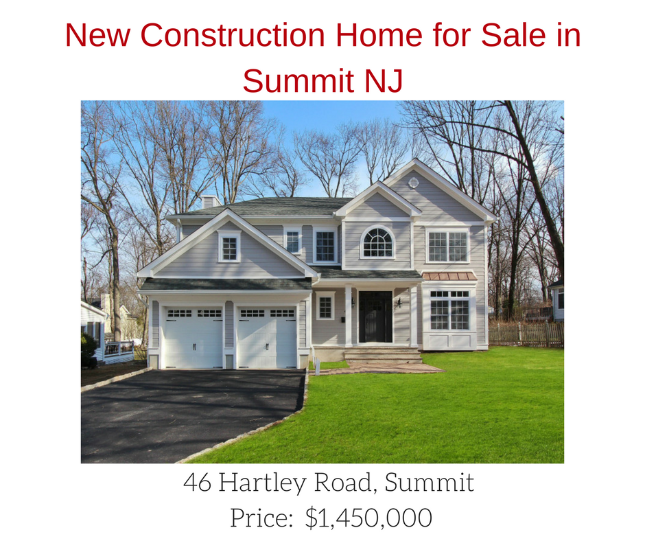 46 hartley rd summit nj for New construction houses in nj