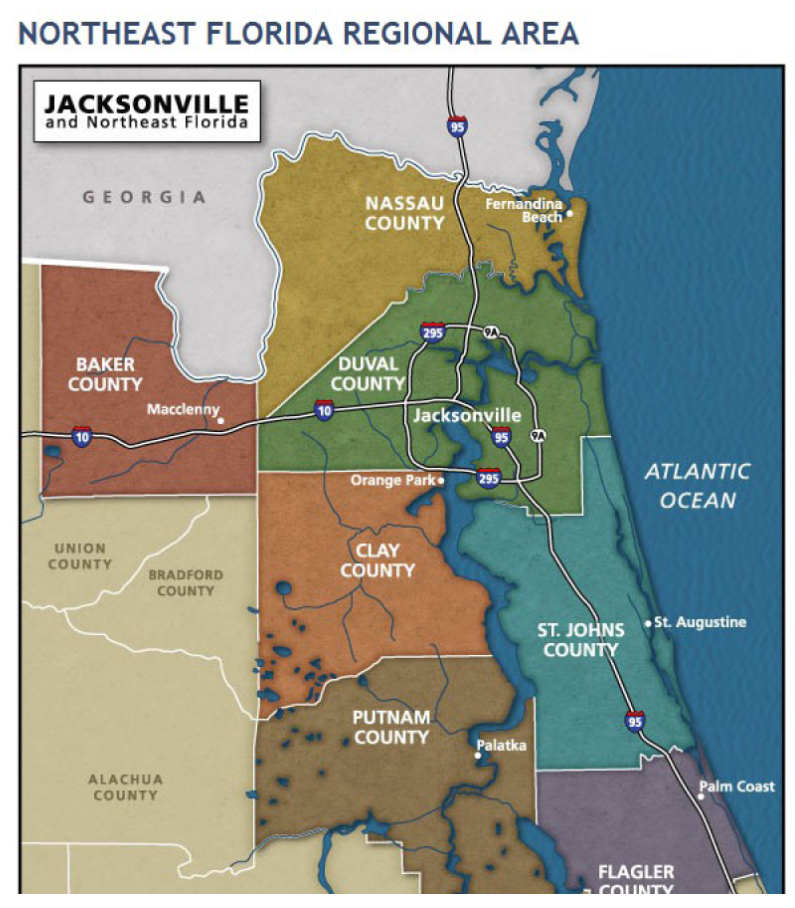 Fleming Island Florida Map Maps of Jacksonville, Orange Park, and Fleming Island